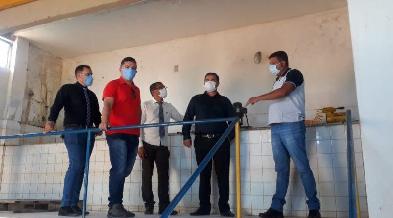 Vereadores visitaram estação de tratamento de água do SAAE